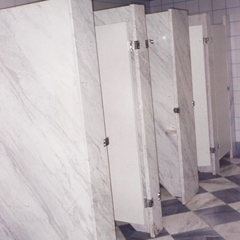 Banheiro com Divisória de Granito Taubaté - Divisória de Banheiro Feito de Granito Cinza