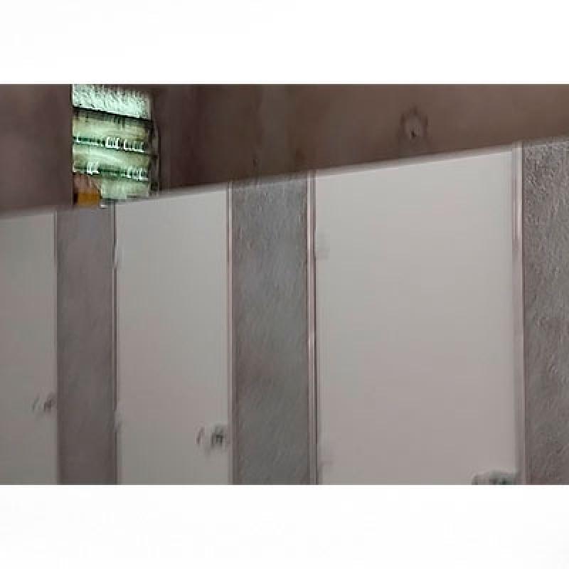 Divisoria de Granilite para Banheiro Rio Claro - Divisória com Granilite para Banheiro
