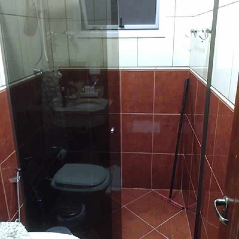 Divisória de Vidro Temperado em Banheiro Itapeva - Divisória em Vidro Temperado para Casas