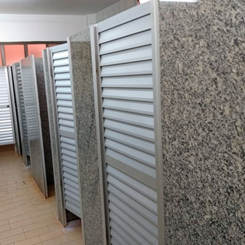 Empresa de Divisória Banheiro Box de Granito Santa Bárbara D'Oeste - Divisória Banheiro Granito Cinza