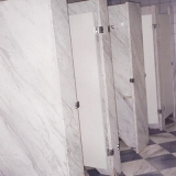 divisória banheiro granito cinza Araçatuba