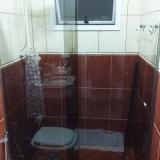 divisória de vidro temperado para banheiro Louveira