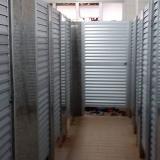 empresa de divisória para banheiro em granito com porta São Roque